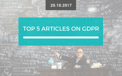 Top 5 articles on GDPR