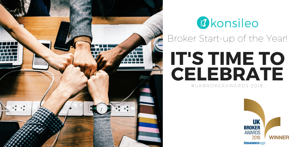 Konsileo Wins Broker Start-up of the Year 2018