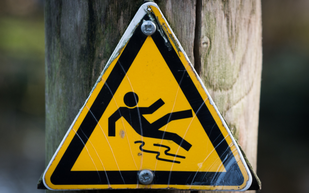 Protect your business from injuries from slips and trips